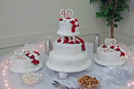 download 40th wedding anniversary cake decorations food photos