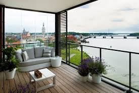 balkon design glass balcony partitioning sliding glass