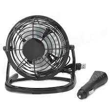 usb powered car fan ob o816 usb car cigarette lighter powered 4 blade fan w switch