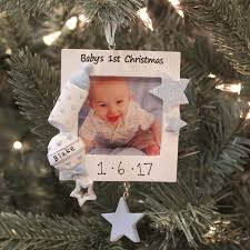 Baby S First Christmas Photo Frame Tree Decoration baby u0027s first christmas ornament