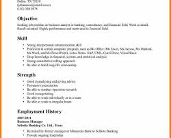 Financial Analyst Resume Template Resume Financial Analyst Resume Amiable Recent Graduate