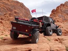 diy offroad camper m416 based military off road trailer build desert build with