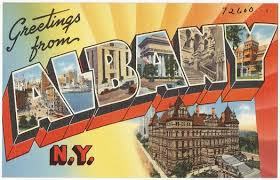 local postcards all albany
