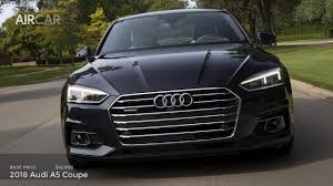 audi dashboard a5 2018 audi a5 coupe us specs drive exterior interior youtube