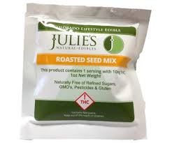 thc edible julie s edibles roasted seed mix