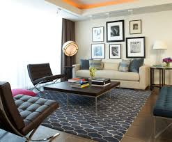 Cowhide Patchwork Rugs In Contemporary Home Decor Modern by Modern Living Room Rugs Living Room Decoration