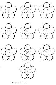 flower worksheet crafts and worksheets for preschool toddler and