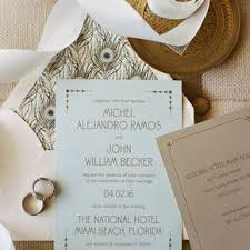 wedding invitations miami gold wedding invitations