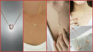 golden girl necklace images Light weight gold chain designs for girls jpg