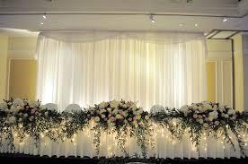 wedding backdrop simple wedding back drops backdrop fairy light backdrop classical