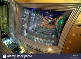 the futuristic interior of jumeirah beach luxury hotel dubai