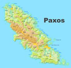 Kos Greece Map by Paxos Maps Greece Maps Of Paxos Island