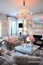 Dash Of Darling Home Tour by This Mirrored Table From Home Goods Is Just The Right Amount Of