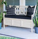 Deck Storage Bench Plans Free by Benches Outdoors At Woodworkersworkshop Com