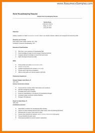 Nanny Housekeeper Resume Sample by Sample Housekeeping Resume Hospital Housekeeping Supervisor