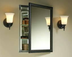 Bathroom Mirror Hinges Bathroom Medicine Cabinets With Mirror Mirror Design