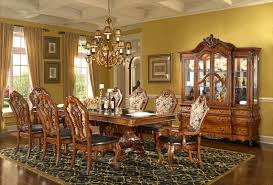 Cherry Dining Room Chairs Emejing Antoinette Dining Room Set Photos Rugoingmyway Us