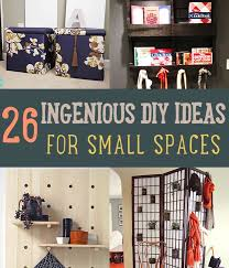 26 ingenious diy ideas for small spaces on a budget