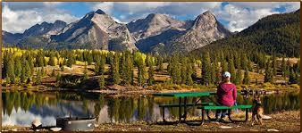 most scenic places in colorado molas lake cground park town silverton colorado home page