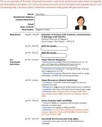 how to write a resume singapore sample resumes job hunters guide