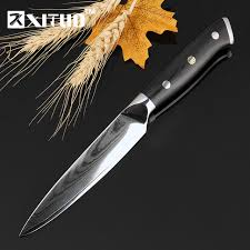 vg10 kitchen knives aliexpress com buy xituo damascus kitchen knives 5 inch 67 layers