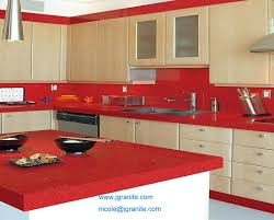 red quartz kitchen countertops for sale from china