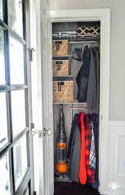 foyer closet organizer