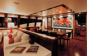 Table Salon Design Interiors Design Best Modern Yacht Interior Designs