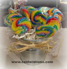 Candy Vases Centerpieces Lollipop Centerpieces