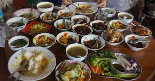 traditional buffet myanmar buffet traditional foods in myanmar