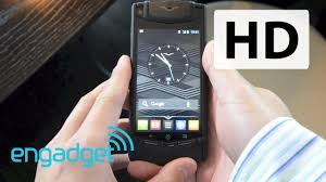 vertu phone ferrari vertu ti hands on engadget youtube