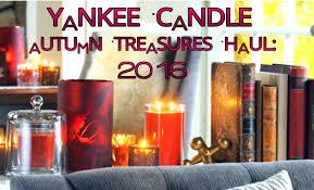 yankee candle autumn treasures haul 2016 news youtube