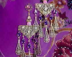 kerala earrings bohemian chandelier earrings by kerala