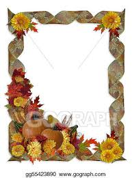 stock illustration thanksgiving autumn fall background clipart