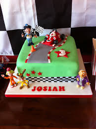 roary the racing car party and cake third birthday party jo