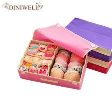 underwear organizer diniwell 15 cell nonwoven folding underwear organizer closet drawer
