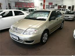 toyota corolla 2005 gold toyota corolla 160i gle at with 235000km available now
