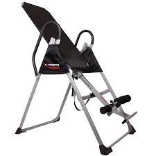 tilt table for back pain confidence inversion table black silver amazon co uk sports