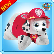 paw patrol marshall pillow pet paw patrol plush toy