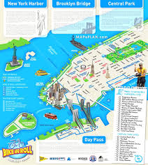 map of nyc maps of new york top tourist attractions free printable best map