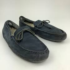 ugg australia blue chester sheepskin 81 ugg other ugg s blue chester moccasins size 11 from