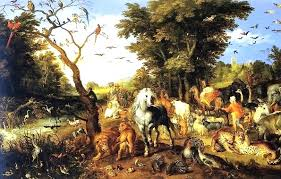 noah the ark and the flood paintings of the bible story