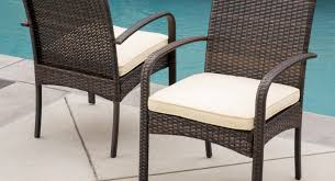 Outdoor Wicker Dining Chair Chairs Wicker And Metal Dining Chairs Inspire Photos Design