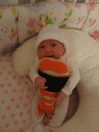 Baby Sushi Halloween Costume Baby Ellie Ebi Shrimp Nigiri Japanese Crispix Party Mix