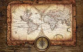 World Map Desktop Wallpaper by Antique Map Compass Background 1920x1200 Download Amazing