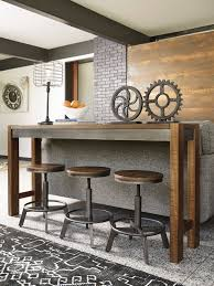ashley torjin long counter table with 3 stools dream rooms furniture