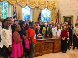 president trump signs executive memorandum expanding stem and