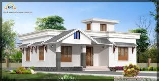 single floor house elevation kerala design idea building plans