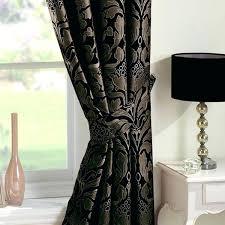 black damask curtains u2013 teawing co