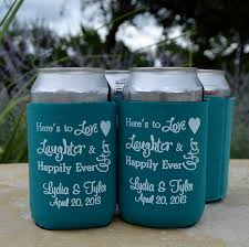 personalized wedding koozies wedding koozie favors wedding definition ideas